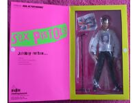 sex pistols actin figures collectables x 4 all mint in boxes buyer collects