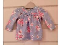 3-6 months baby girls clothing