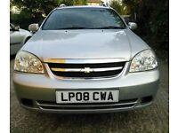 CHEVROLET LACETTI AUTOMATIC 1.8 ESTATE 08 PLATE