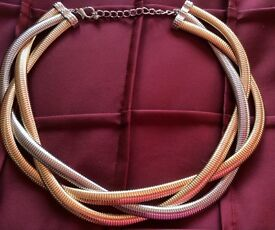 Marks and Spencer Gold and Silver Necklace never worn