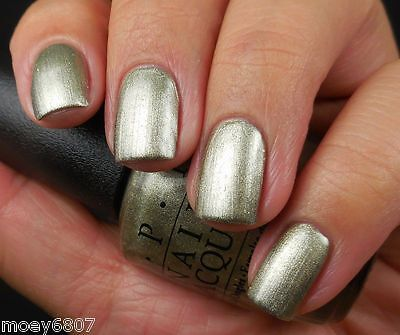 OPI Starlight COMET CLOSER Warm Textured Pearl GOLD Nail Polish Lacquer G42 New! - Gold Comet