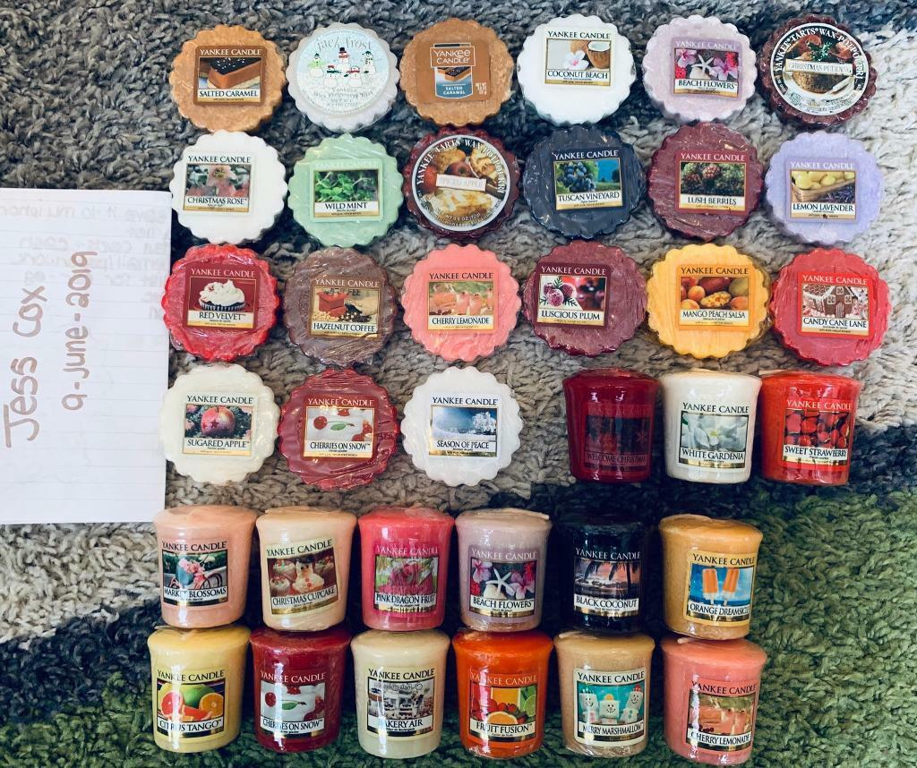 Yankee Candle Tarts/Votives/Trays Discontinued Fragrance/Deerfield Labels |  in Bristol | Gumtree