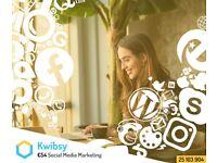 Social Media Management, Facebook Marketing or Instagram Marketing, £54 per month