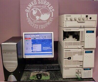 Hewlett Packard Hplc 1050 Liquid Chromatograph System 79852 79855a 79853c 79856a
