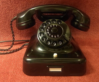 altes Telefon W48 antikes Krone Telephone Bakelit W 48 Fernsprecher