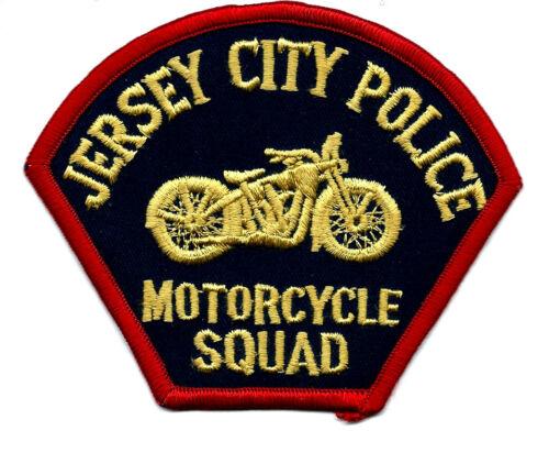 JERSEY CITY  NJ POLICE DEPT. MOTORCYCLE SQUAD PATCH
