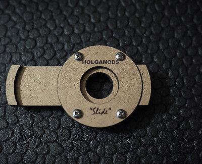 """DIY Laser Cut Film Camera """"Slide"""" Pinhole Shutter"""