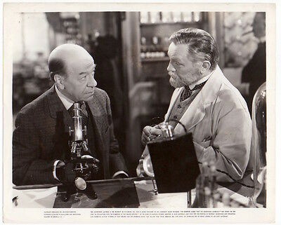 EDWARD G. ROBINSON Donald Meek DR ERLICH'S MAGIC BULLET Orig Photo SEE CONDITION