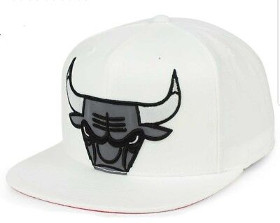 finest selection 7df7a 5343f Chicago Bulls Mitchell   Ness XL Reflective Cropped Snapback Cap