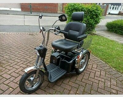 TGA Supersport Mobility Scooter 10 Months Old, Charger & Handbook Excellent Cond