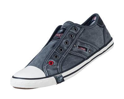 coole Sneaker Damen & Herren Halbschuhe Sneakers ohne Schnürsenkel Cotton Canvas Coole Sneaker
