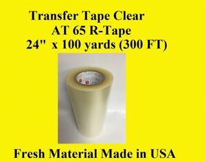 Transfer Tape Clear  1 Roll 24