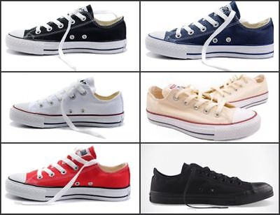 New Men ALL STARs Canvas Flats Chuck Taylor Low Top shoes Loafers Sneakers