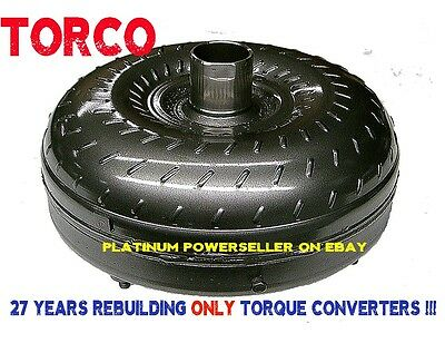 "Ford C4 High Stall 1800-2200 10.5"" Bolt Cir / 24 or 26 spline Torque Converter"