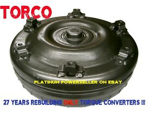4L80E torque converter GM88L - 1998 and up-  1800-2000 stall UPGRADED