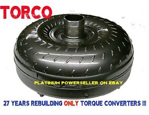 Ford Torque Converter AODE 4R70W 4R75 Mustang Mark8 2200-2600 stall 10.65 BC