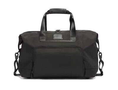 TUMI Double Expansion Travel Satchel New Black 1173441041