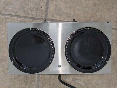 Bunn Dual Coffee Pot Warmer Station 1 Warmer Station