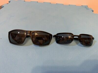 Lot of 2 Fashion Stylish Sunglasses Black: 1 pcs Piranha PC105 & 1 pcs (Piranha Sunglasses)