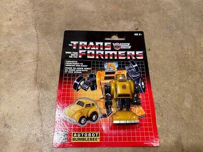 Hasbro Transformers G1 Walmart Reissue Bumblebee New MoC