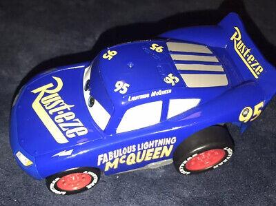 Disney Pixar Cars 3 Revvin' Action Fabulous Lightning McQueen Press & Go Vehicle