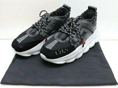 Versace Chain Reaction Sneakers US Men's Size 10 EU Size 43