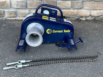Current Tools 88 Ultra Tugger 8000lb 8k Cable Puller Greenlee 6800 Great Shape