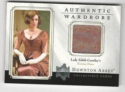 Lady Edith Crawley DOWNTON ABBEY Seasons 1 & 2 Wardrobe Costume Card #W01