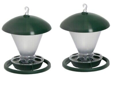 2 x Hanging Feeder Large 1kg For Cage & Aviary Birds Canary / Pigeons / Finch