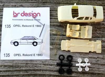 1:87 bs-design Resin Bitter SC Cabrio