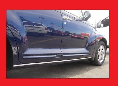 2 Piece Chrome Rocker Trim Molding Side Spears For Select Ford Models
