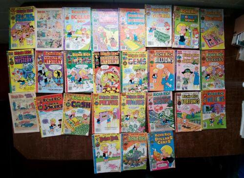 Misc. Richie Rich Comics, lot of 27