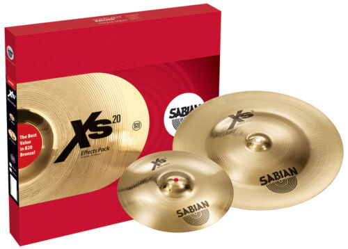 Sabian XS20 Effects Cymbal Pack - Inc 18