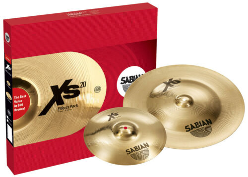 Sabian XS20 Effects Cymbal Pack - Inc 18