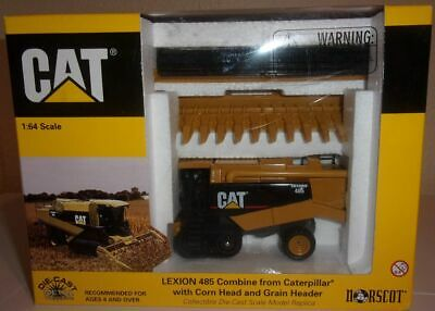 1/64 Cat Lexion 485 Combine with Heads