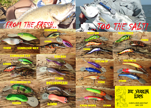 Doc Yarrum Aussie Timber Fishing Lures Oakey Toowoomba Surrounds Preview