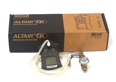 New Msa Altair 4X Gas Detector W  711175 Demand Regulator Valve