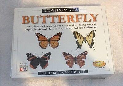 Skullduggery 0582 Butterfly Eyewitness Kit (Casting Kit) Brand New