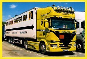 Irish Lorry Truck Photo - Iggy Madden of Galway 141G3289 - Scania R520 Topline