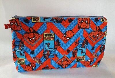 Spider Man Spiderman Marvel Makeup Pouch Knitting Crochet Project Bag Zipper - Spiderman Makeup