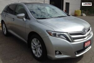 2015 Toyota Venza AWD LIMITED NAVIGATION LEATHER HEATED SEATS Cl