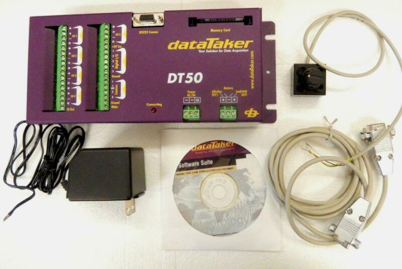 DATATAKER DT50 w/MANUAL LOOKS UNUSED EXCELLENT