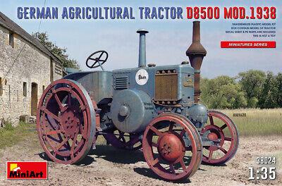 Miniart 38024 - 1:35 German Agricultural Tractor D8500 Mod. 1938 - Neu