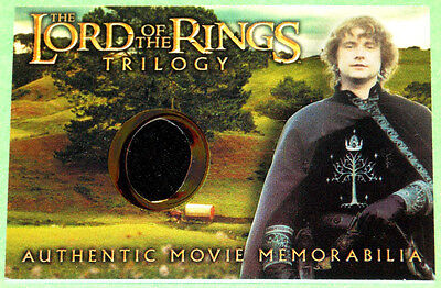 Lord of The Rings Trilogy Billy Boyd Pippin's Gondorian Tunic Costume Card (Pippin Costume)