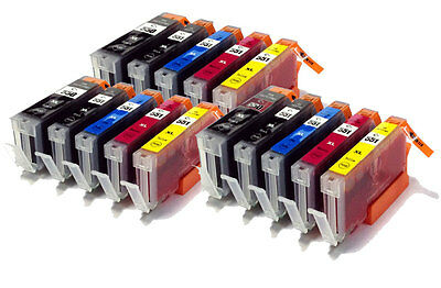 Any 15 Cli551 Pgi550 Chipped Ink Carts Compatible With Canon Pixma Printers