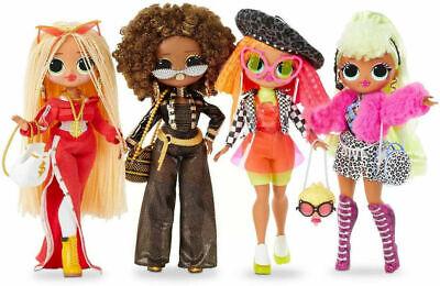 BNIB LOL Surprise OMG 4 Pack Series 1 Dolls Royal Bee Swag...