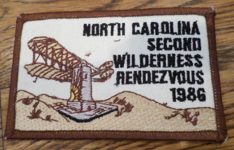 North Carolina Second Wilderness 1986  Royal Ranger Uniform Patch