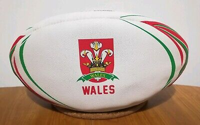 Pallone Rugby Galles Wales team Patrick rugby ball rare cymru