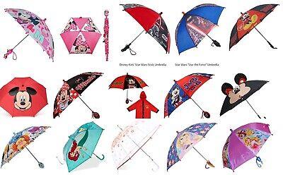 Disney Umbrella - Disney Lightweight Children Kids Rain Umbrella Molded 3D Figure Handle Umbrella