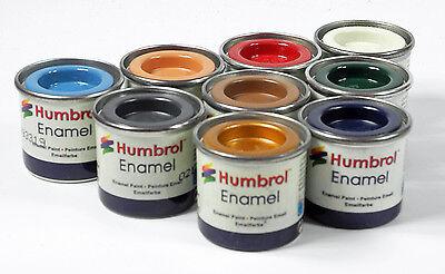 (GP: EUR 11,00/100ml) Humbrol Enamel - Lack - Lackfarbe 14ml-Dosen zur Auswahl